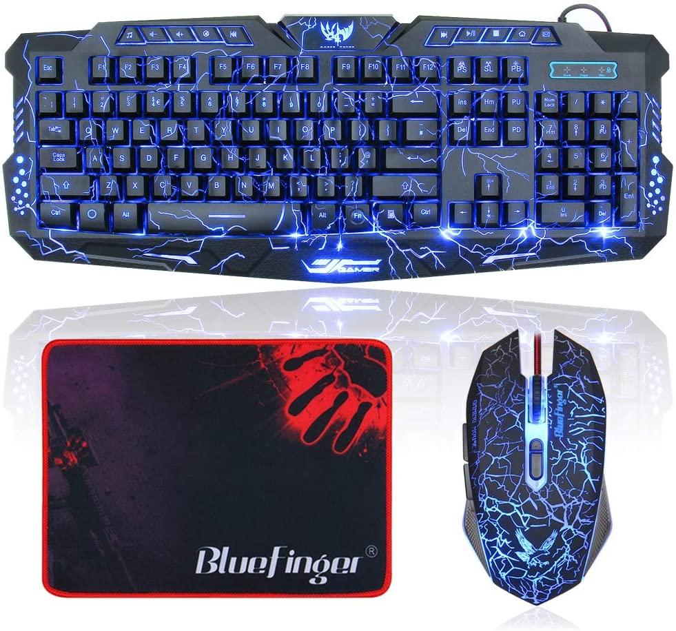 Teclado Gaming BlueFinger RGB Gaming